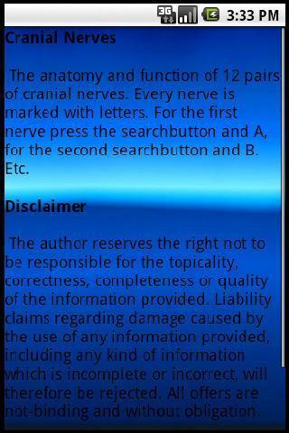 Human Cranial Nerves