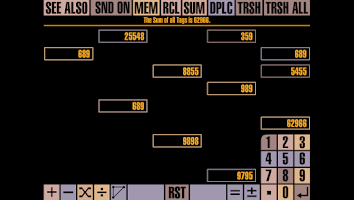 Screenshot of Gesture Calculator Version 2