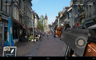 Screenshot of Gun Camera 3D