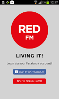 Screenshot of Red FM - Living It