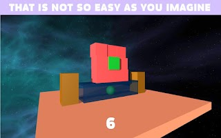 Screenshot of BrickDown 3D Physics Puzzle