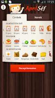 Screenshot of ApróSéf receptek