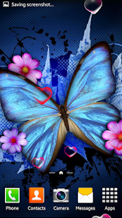 Butterfly Live Wallpaper - screenshot