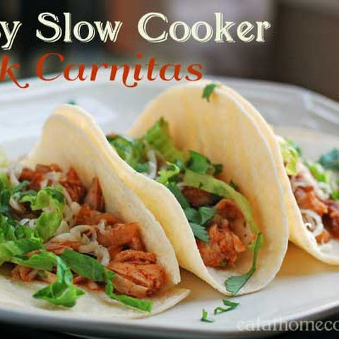 Easy Slow Cooker Pork Carnitas – Weeknight Dinner Favorite