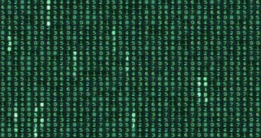 The Matrix Code Screen Saver - screenshot