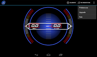 Screenshot of Inclinometer Free