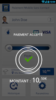 Screenshot of Paiement Mobile Sans Contact L