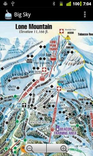 滑雪TrailMaps