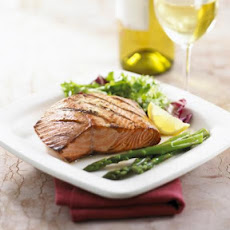 Grilled Salmon With Lemon and Ginger