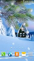 Screenshot of Winter Live Wallpaper