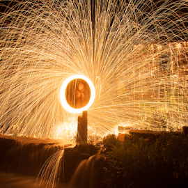 by Joel Calheiros - Abstract Light Painting