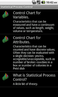 Statistical Quality Control - screenshot