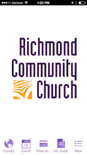 Richmond Community Church - screenshot