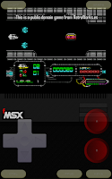 Screenshot of fMSX - Free MSX Emulator
