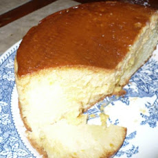 Filipino Custard Chiffon Cake