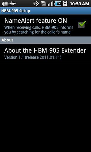 LG HBM-905 HBM-906 Extender