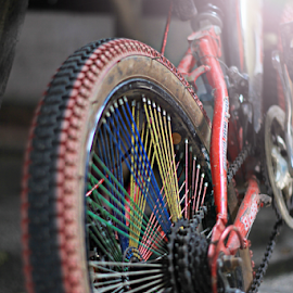 Rear Tire by Tofan Wisuda Nova - Transportation Bicycles