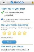 Screenshot of iBOOD Daily Deals