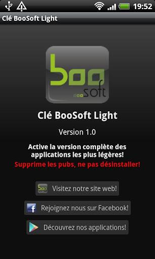 Clé BooSoft Light