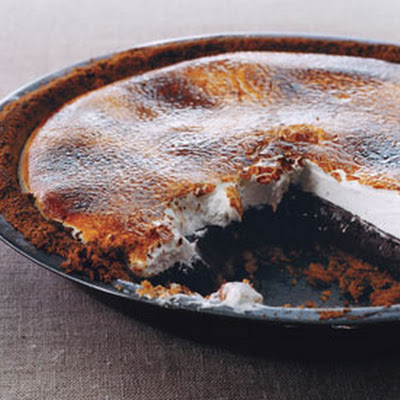 Chocolate S'more Pie