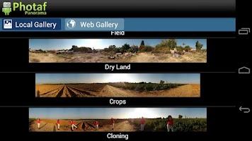 Screenshot of Photaf Panorama (Free)