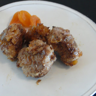 PORK MEDALLIONS WITH APPLE CIDER-APRICOT REDUCTION