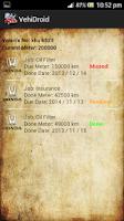Screenshot of VehiDroid - Vehicle Management