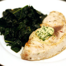 Swordfish with Lemon Herb Butter