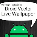 Droid Vector Live Wallpaper HD icon