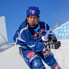 #45 Simon Gagnon #CrashedIce © 2014 Boucerman Photography by Thomas Nelson - Sports & Fitness Other Sports