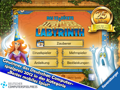 Das verrückte Labyrinth Screenshot