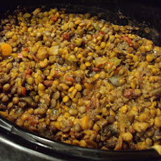 Lentil Stew over Couscous