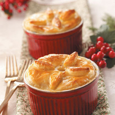 Ham and Leek Pies Recipe