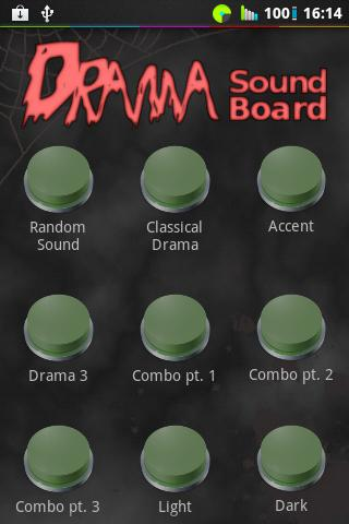 Drama Button Soundboard