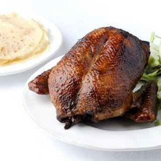 Aromatic Duck With Asparagus And Cucumber Salad