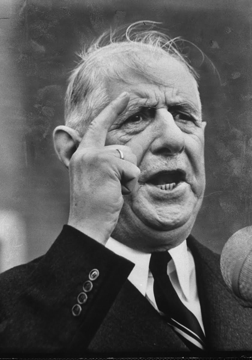 De Gaulle, 1962.