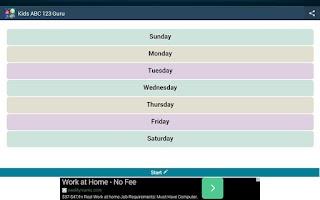 Screenshot of Kids ABC 123 Guru. Free