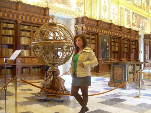 Biblioteka w Escorialu