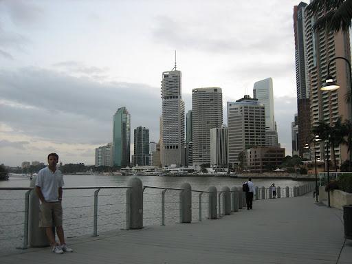 Centrum Brisbane - tam sprzedaliśmy Grata