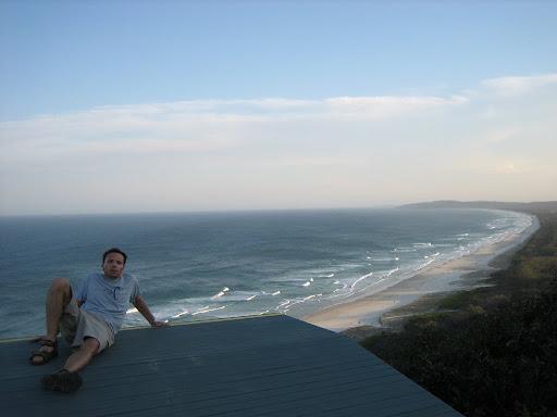 Byron Bay - najbardziej na wschód wysunięty kawałek Australii