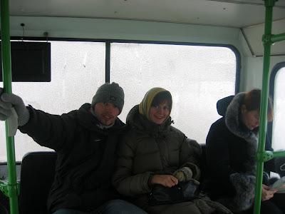 Wesoły, lodowaty autobus