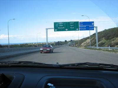 Na libańskich autostradach
