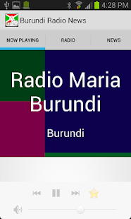 Burundi Radio News - screenshot