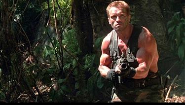 Arnold as Mjr. Dutch Schaeffer