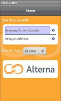Screenshot of Alterna ATM Finder