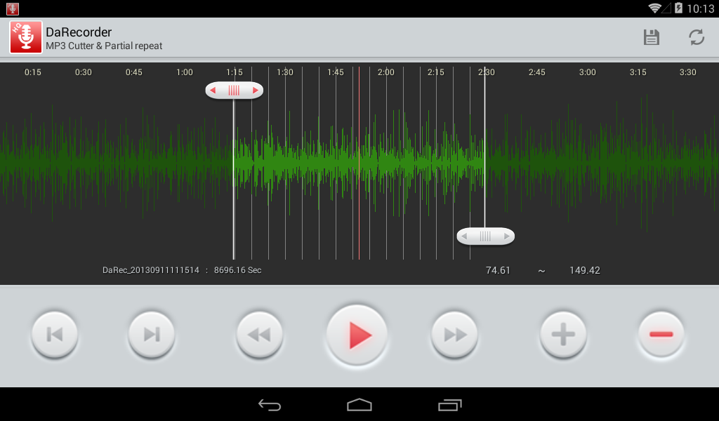 High Quality Voice Recorder Screenshot 14
