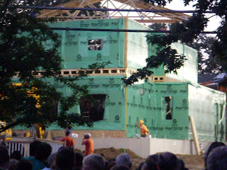Extreme Makeover house takes shape