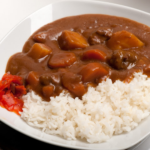 Japanese beef curry (Curry Rice)