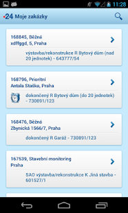 Mobilni REV - screenshot