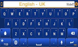 Screenshot of SlideIT English UK pack